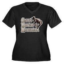 Classic Broncos Hawaii 3 Women's Plus Size V-Neck