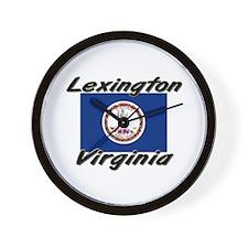 Lexington virginia Wall Clock