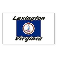 Lexington virginia Rectangle Decal