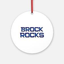 brock rocks Ornament (Round)