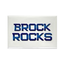 brock rocks Rectangle Magnet