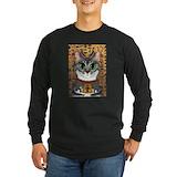 Bastet Long Sleeve T Shirts