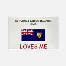 My Turks & Caicos Islander Mom Loves Me Rectangle