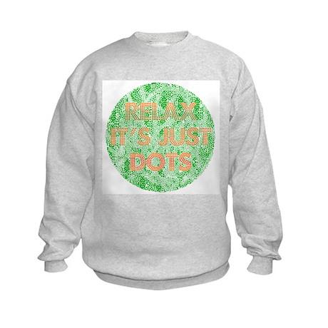 It's Just Dots Kids Sweatshirt
