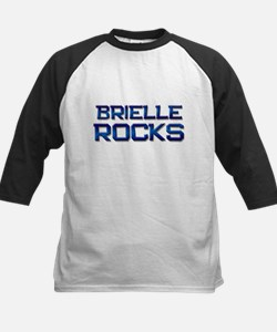 brielle rocks Kids Baseball Jersey