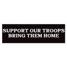 Support out Troops Bumper Stickers