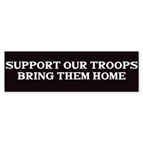 Support out Troops Sticker