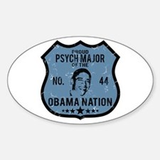 Psych Major Obama Nation Oval Decal