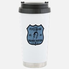 Psych Major Obama Nation Travel Mug