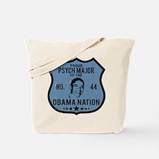 Psych Major Obama Nation Tote Bag