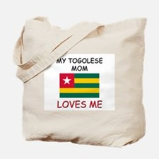 My Togolese Mom Loves Me Tote Bag