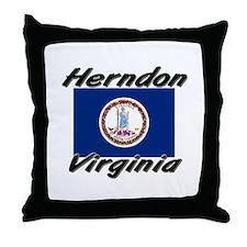 Herndon virginia Throw Pillow
