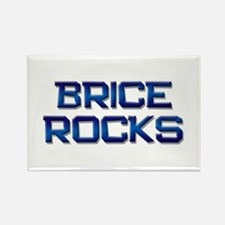 brice rocks Rectangle Magnet