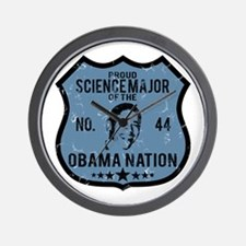 Science Major Obama Nation Wall Clock