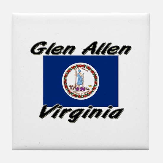 Glen Allen virginia Tile Coaster