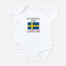 My Swedish Mom Loves Me Infant Bodysuit
