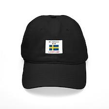 My Swedish Mom Loves Me Baseball Hat