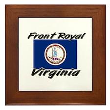 Front Royal virginia Framed Tile