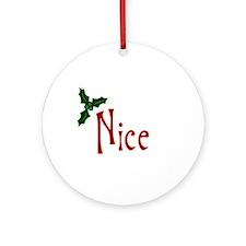 Nice Ornament (Round)
