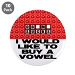 "I would like to buy a vowel 3.5"" Button (10 p"