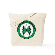 Liver Cancer Survivor Tote Bag
