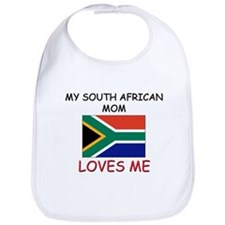 My South African Mom Loves Me Bib