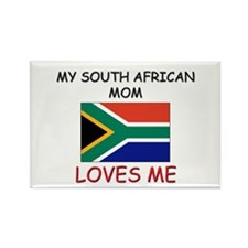 My South African Mom Loves Me Rectangle Magnet