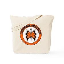 Leukemia Survivor Butterfly Tote Bag