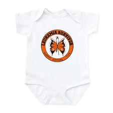 Leukemia Survivor Butterfly Infant Bodysuit