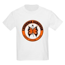 Leukemia Survivor Butterfly T-Shirt
