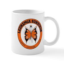 Leukemia Survivor Butterfly Mug
