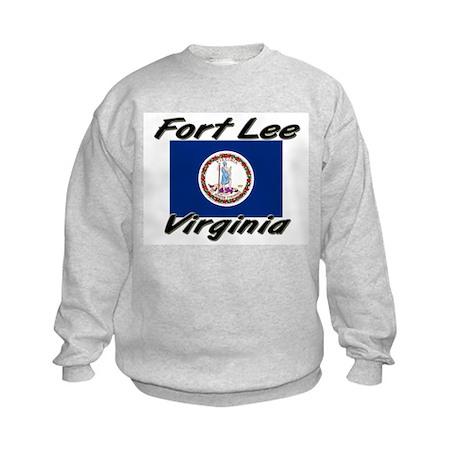 Fort Lee virginia Kids Sweatshirt