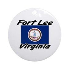 Fort Lee virginia Ornament (Round)