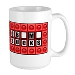 I would like to buy a vowel Large Mug