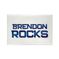 brendon rocks Rectangle Magnet