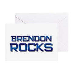 brendon rocks Greeting Card