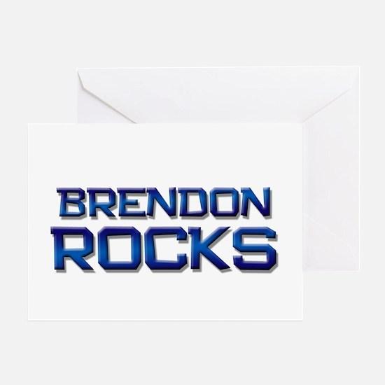 brendon rocks Greeting Card