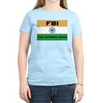 India FBI full blooded Indian Women's Pink T-Shirt