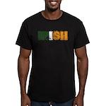 Irish Men's Fitted T-Shirt (dark)