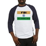 India FBI full blooded Indian Baseball Jersey