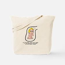 Blonde EGGBERT Charity Ward Tote Bag