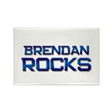 brendan rocks Rectangle Magnet