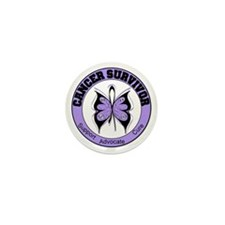 General Cancer Survivor Mini Button (100 pack)