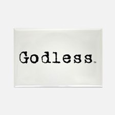 Godless Rectangle Magnet