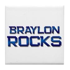braylon rocks Tile Coaster