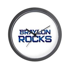 braylon rocks Wall Clock