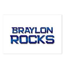 braylon rocks Postcards (Package of 8)