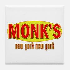 Seinfeld: MONK'S Restaurant Tile Coaster