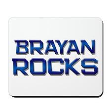 brayan rocks Mousepad