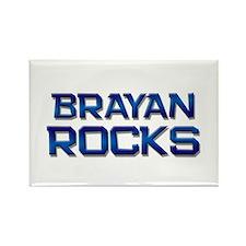 brayan rocks Rectangle Magnet